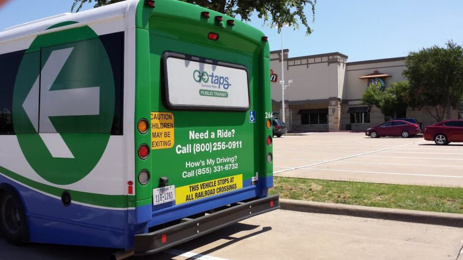 GoTAPS will provide local transportation to the Allen area.