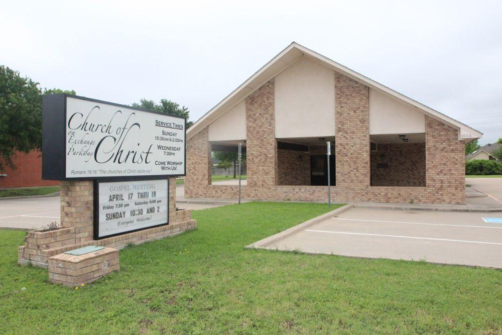 The Church of Christ is the temporary home to many firefighters as the department is currently being renovated.