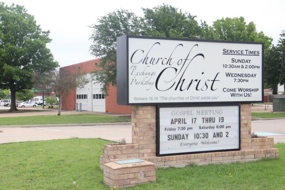 Plans to build a new Fire Station 2 in Allen will force the temporarily relocation of the fire station to the property of the Church of Christ on Exchange Parkway.