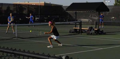 Two tennis players have advanced on to the state competition. Listen to the SoundCloud to hear from the athletes.