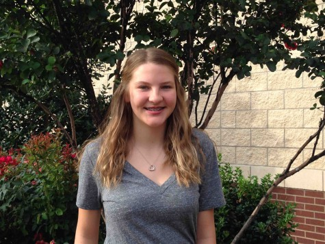 Freshman Sophie Starnes writes poetry and has been recognized in both the Chickasaw Nation's Anoli Creative Writing Contest and the Herald Democrat's celebration of poetry.