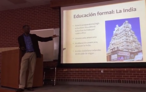 Spanish classes learn from multicultural speaker