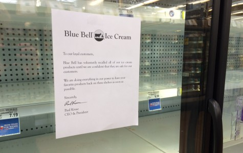 Listeria freezes Blue Bell sales