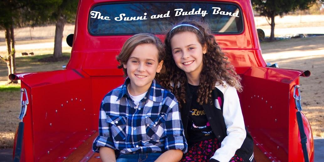The Sunni and Buddy Band is made up of Sunni and Buddy Ruffin, who are students at Puster Elementary and Sloan Creek Intermediate School.