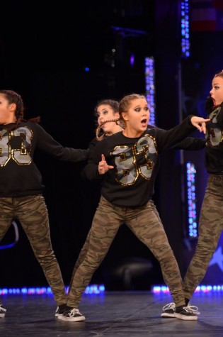 Weeks performed in Orlando, Florida with her team, Powerhouse of Dance in Frisco and Dallas.