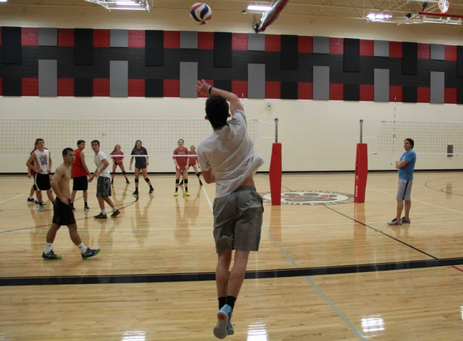 The scrimmage is treated just as any other game, however, in the matches they play to fifteen.