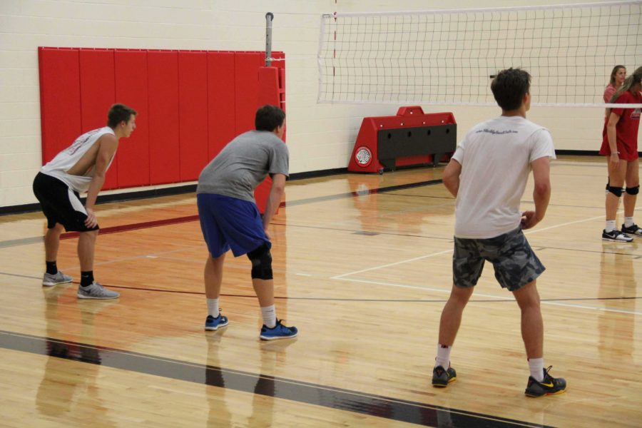 Nearly all members of the team lack any experience playing competitive volleyball, however their instilled athleticism aids them in being of great competition to opposing teams.