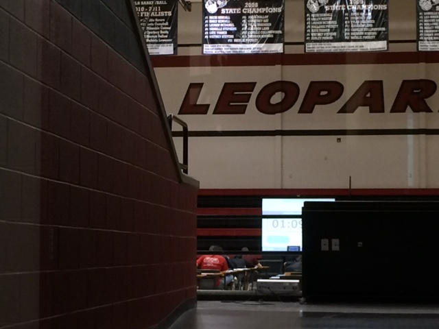 For some AP students, the freezing gym feels more like a walk-in refrigerator than a testing room.