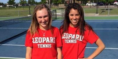 After winning the District 10-5A girls doubles  championship and finishing second in Region II, freshman Samantha Hayward and senior Anna Dickens took 3rd place at the state championship after finishing one of their matches at 2:30 a.m. at Texas A&M.