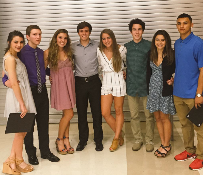 During this track season, there will multiple school records broken and multiple athletes that advanced to the regional meet. All of those accomplishments and more were recognized at the Track and Field Banquet on May 20.