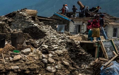 Aid sent to Nepal