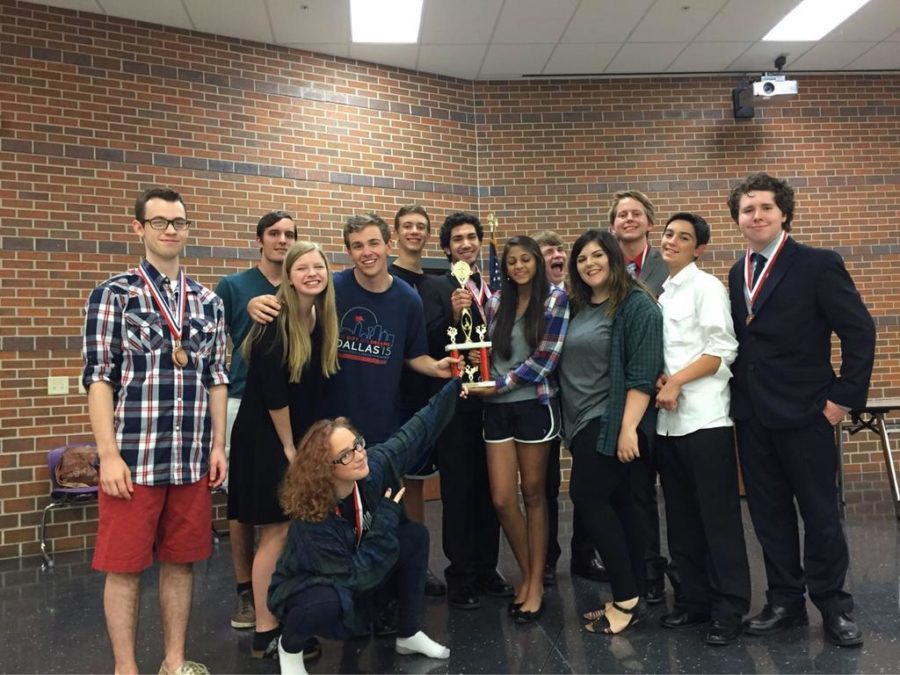Twelve+debate+students+competed+in+the+Hallsville%2FVan+Swing+tournament+on+August+27-28.+