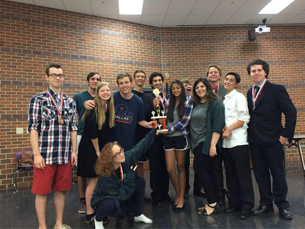 Twelve debate students competed in the Hallsville/Van Swing tournament on August 27-28.