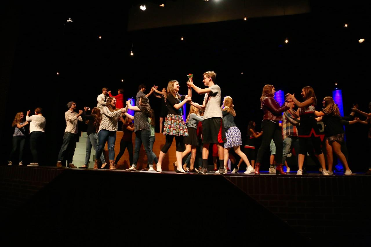 Hot Topic: be the light will be performed on Oct 1 and 3 at 7 p.m. in the Auditorium.