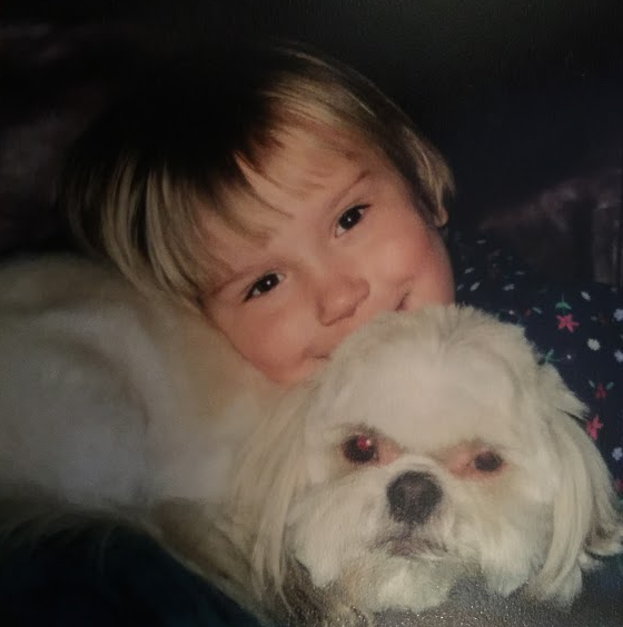 Writer Rachel Jackson reminisces on the day that her dog Rexx, pictured above with Rachel in 2007, was put to sleep after health complications.