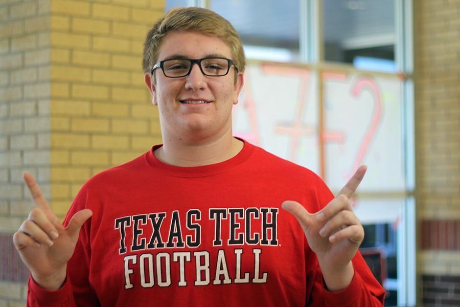 Senior Bailey Smith has been offered a football scholarship to Texas Tech University.