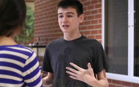 Sophomore Grant Durow