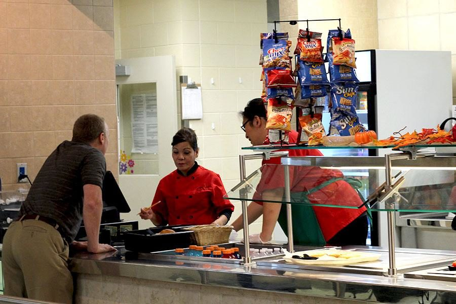 The lunch lines have added several new options, such as Chick Fil A and a hummus box, in order to appeal to a wider variety of students. Lunch catering will also be serving a Thanksgiving meal this Thursday.