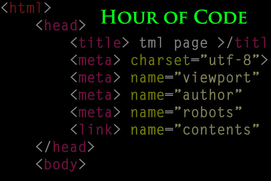 In a series of presentations, the library will be hosting the nation wide movement/organization the Hour of Code to teach students about programming,