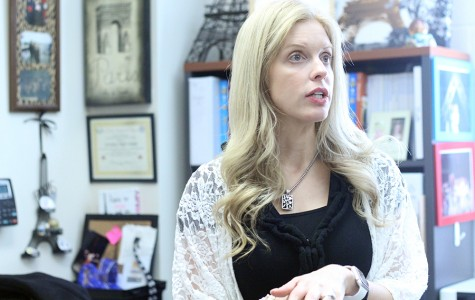 French teacher Melody Mozley