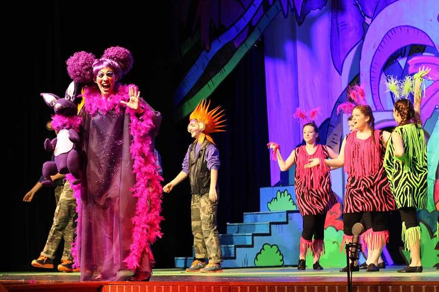 In Seussical, Zoe Kahana performs in the first act.