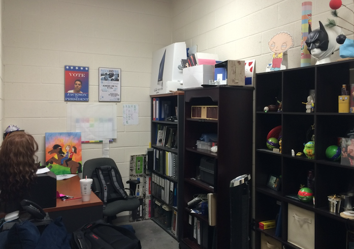 Workspace: John Davenports office