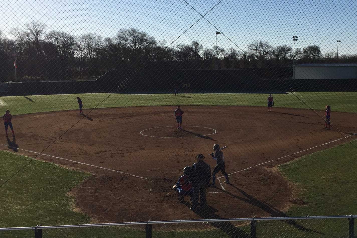 After a tournament in College Station, the varsity softball team will be competing in a tournament on Friday.