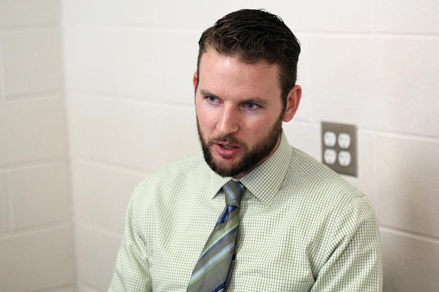 Spanish teacher Seth Sartain
