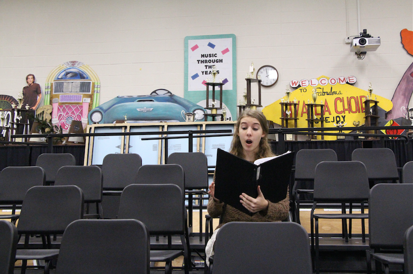 Junior+Zoe+Kahana+is+a+member+of+varsity+choir+and+is+also+involved+in+the+theatre+department.+Her+most+recent+performance+was+as+Sour+Kangaroo+in+Seussical+the+Musical.