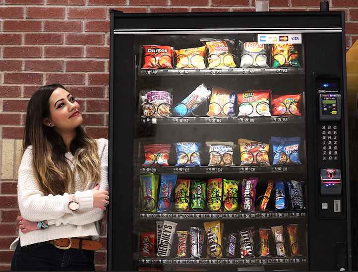 After 4 years attending this school, senior Jordan Toomey has concluded that what she will miss most are the beloved vending machines.