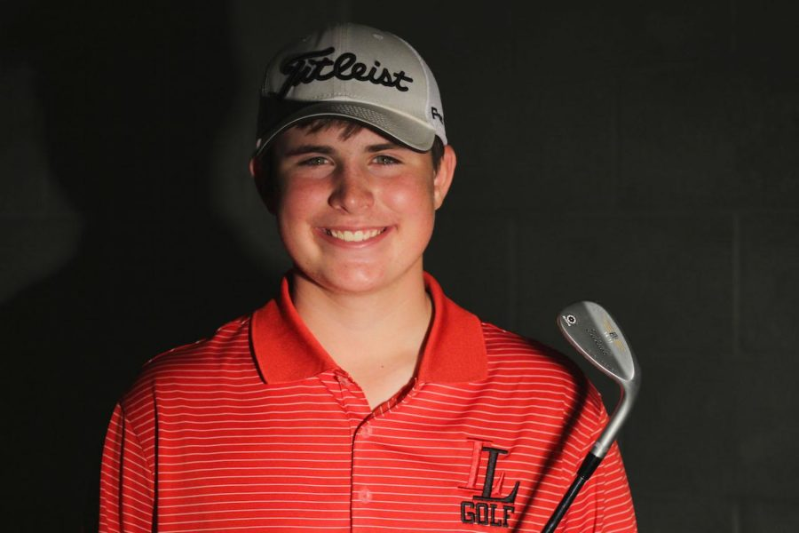 After playing golf for seven years, Brian Wolfe is now on the golf team as a freshman.