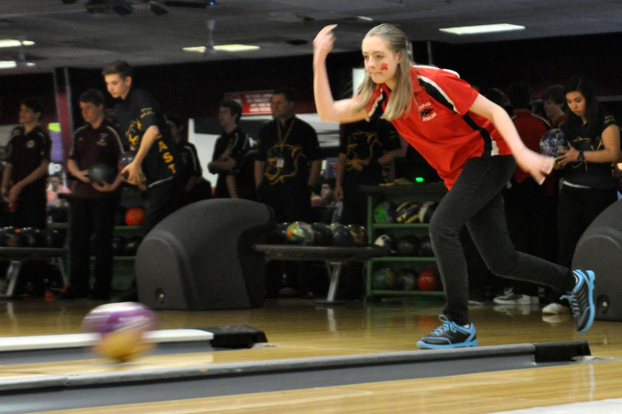 The girls bowling team has advanced to regionals for the second time in their existence.