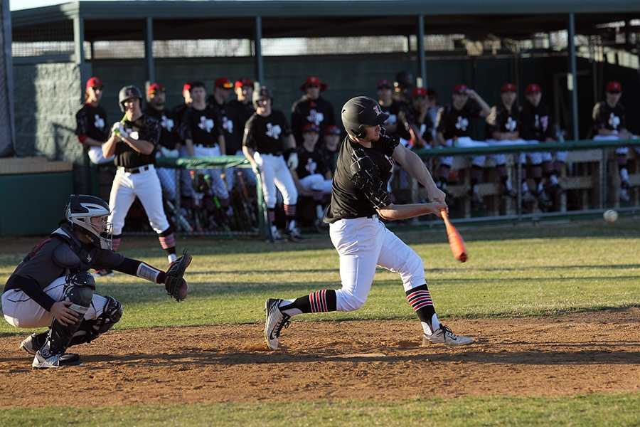 Outfielder Jacob Parrott will be one of several seniors taking the field for the final time in his high school career against Sherman on Friday.
