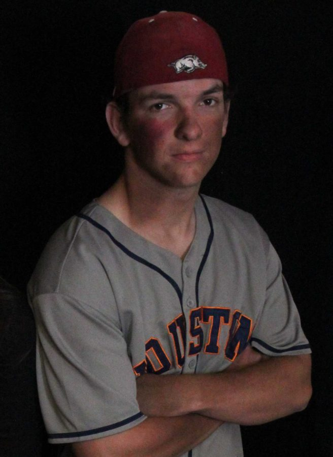 Senior Clayton Bilke portrayed the drunk driver at fault in the accident.