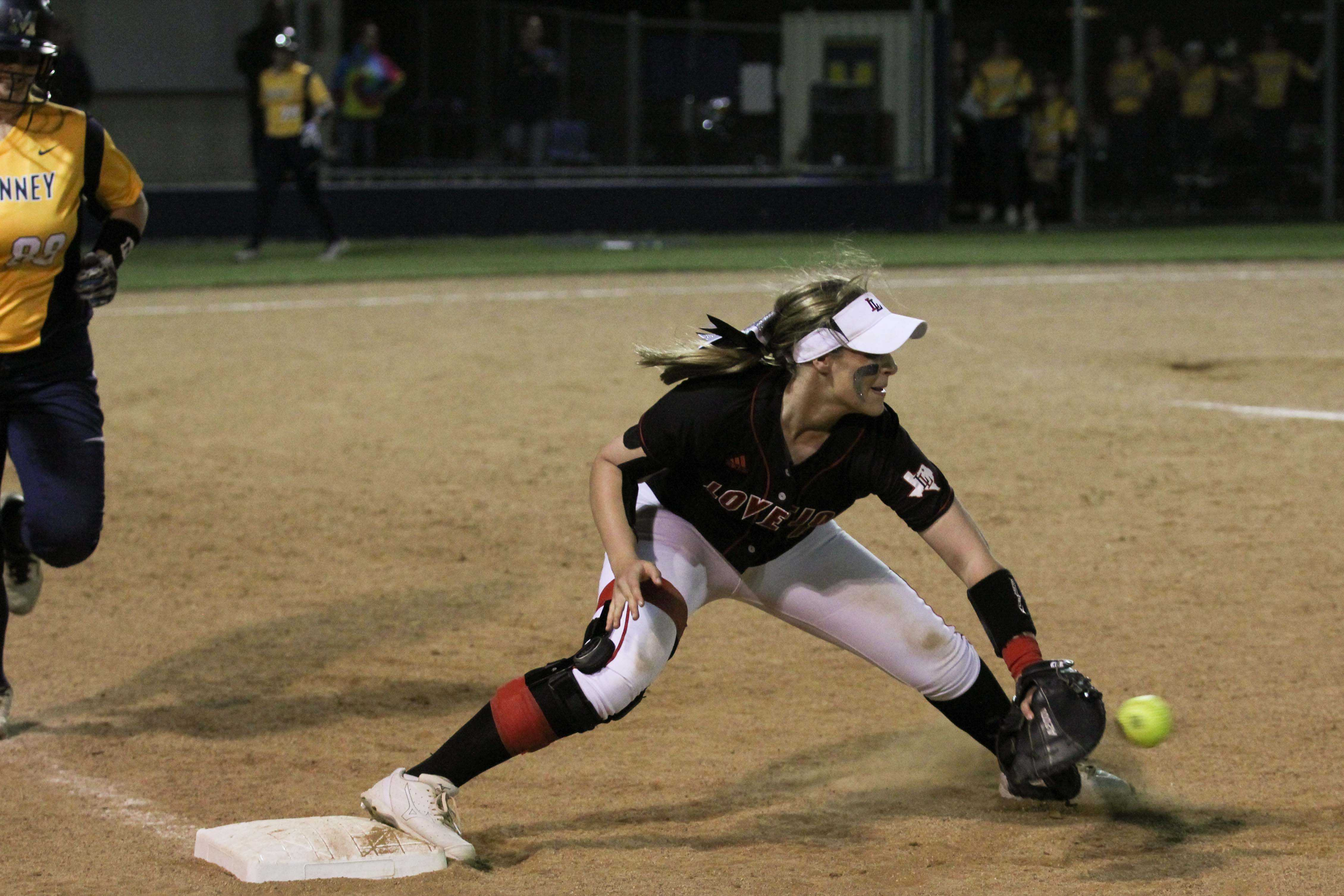 The softball team needs a win tonight over Rival Prosper to officially lock up a playoff spot.