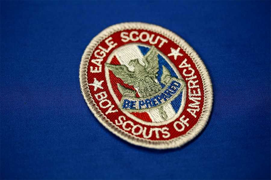 Boy Scoutings highest award, the Eagle Scout, is awarded only to scouts who complete the required service, leadership and technical requirements.