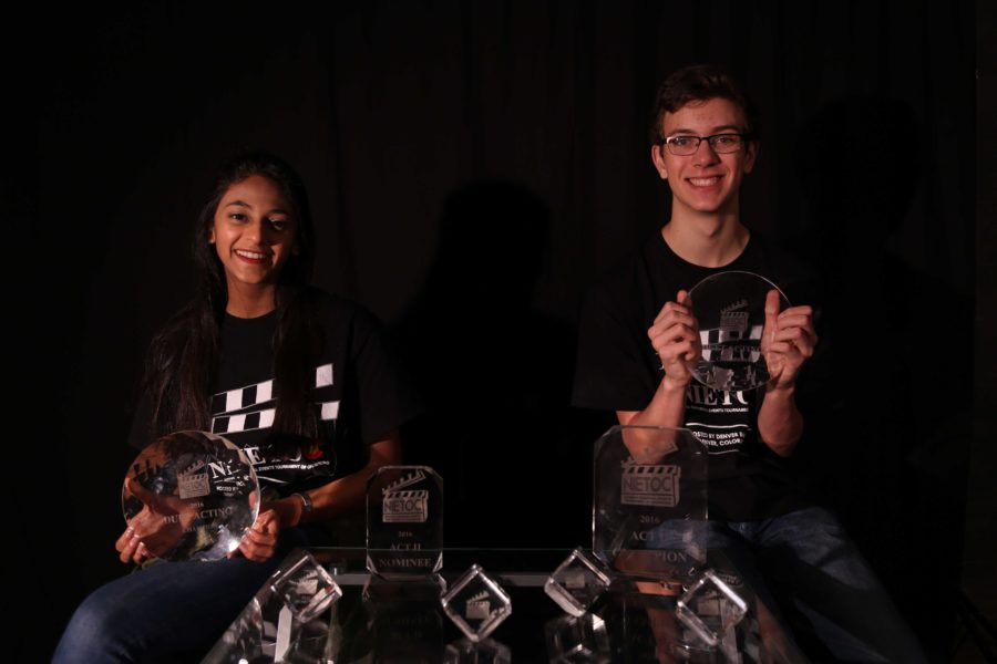 Senior Sonali Mehta and sophomore Clay Parker were said to have chemistry from the start, which led them to a national title.
