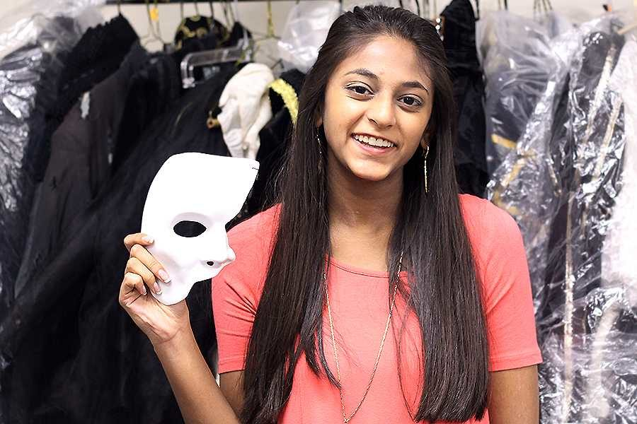 Senior Sonali Mehta involves herself in numerous activities; from speech and debate to theatre; the GSA to helping orphans in India.