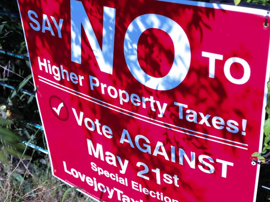 Though there are many community members that are for the tax, many voters are campaigning against it.