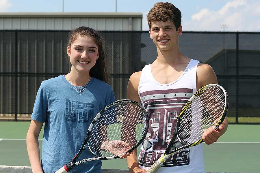 Chemistry matches up for state tennis tournament