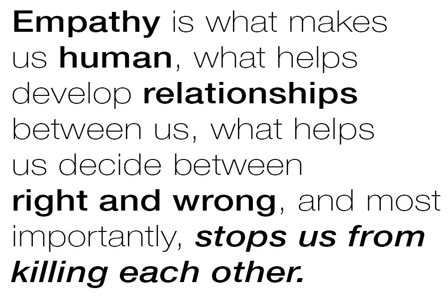 Column: Choose empathy