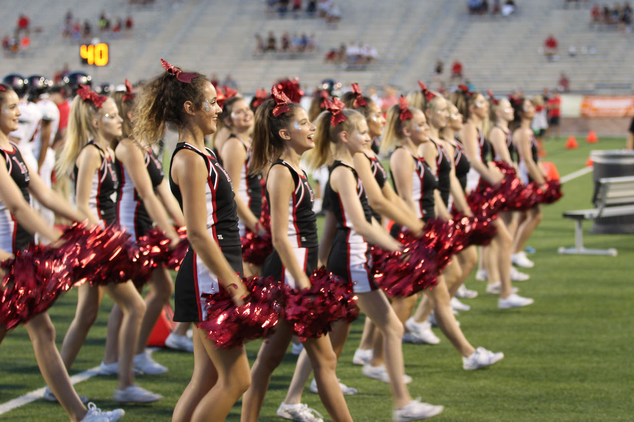 As one of the newest UIL sports, cheerleading will be competing at the Spirit State Championship in Fort Worth this afternoon.