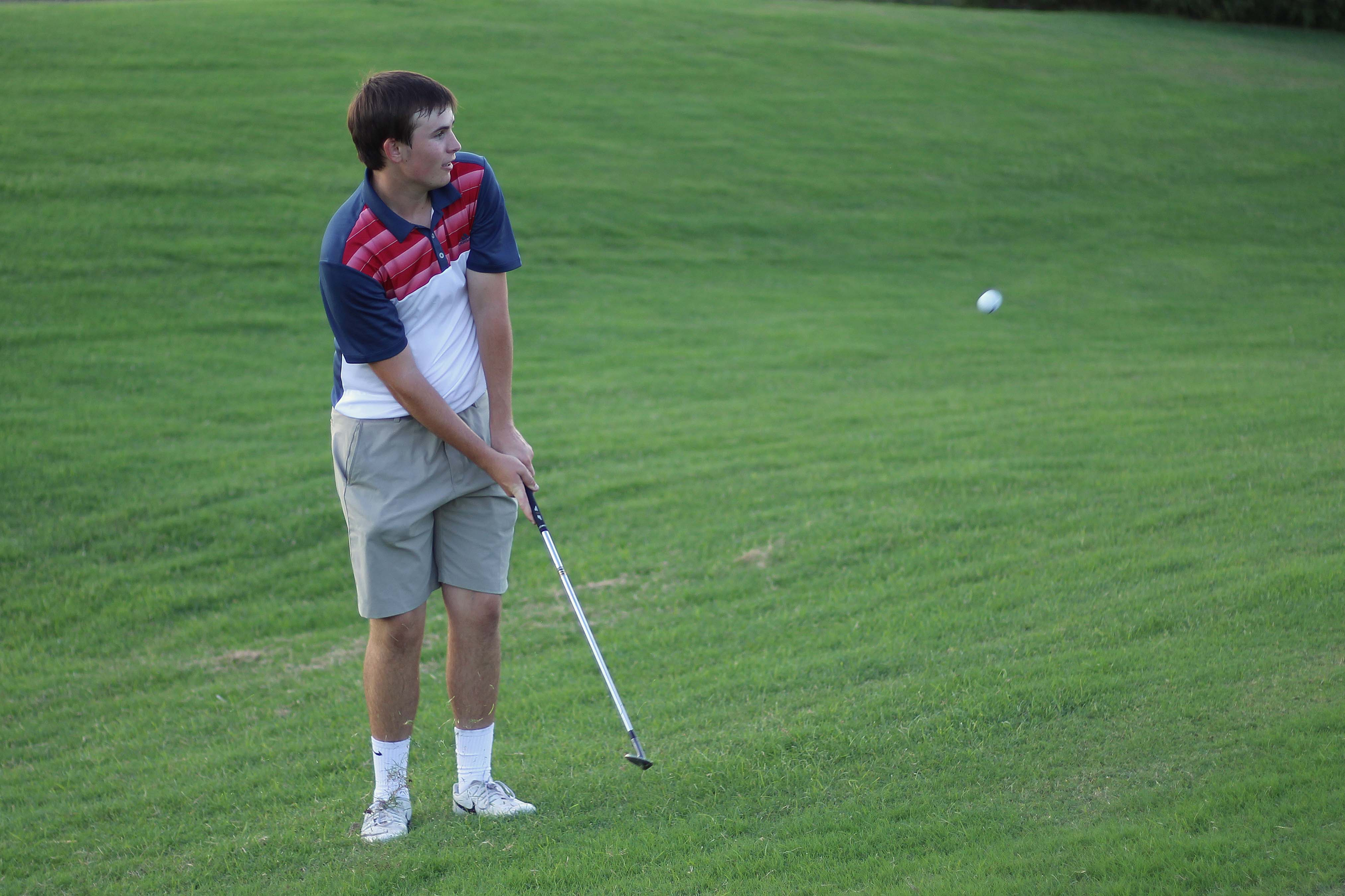 The golf team is preparing for the boys' first tournament of the season on Sept. 26 and the girls' first tournament on Sept. 30.