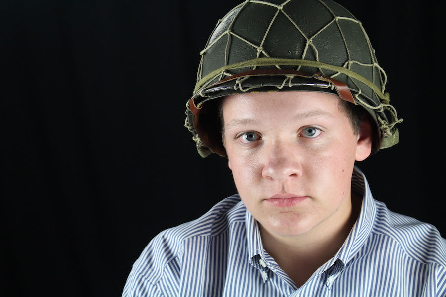 Freshman Justin Maroney has taken his passion for World War II to a new level with his collection of artifacts and plans to take part in a reenactment.