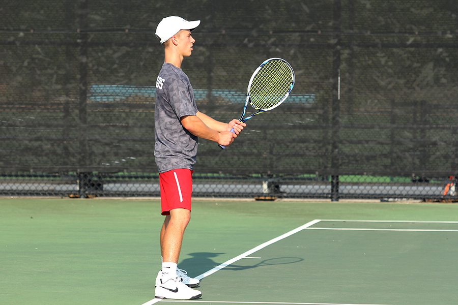 Junior Jack Bennett is following in his older brother's footsteps and hopes to lead the tennis team to a successful season.
