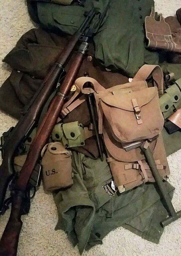 Maroneys World War II equipment.