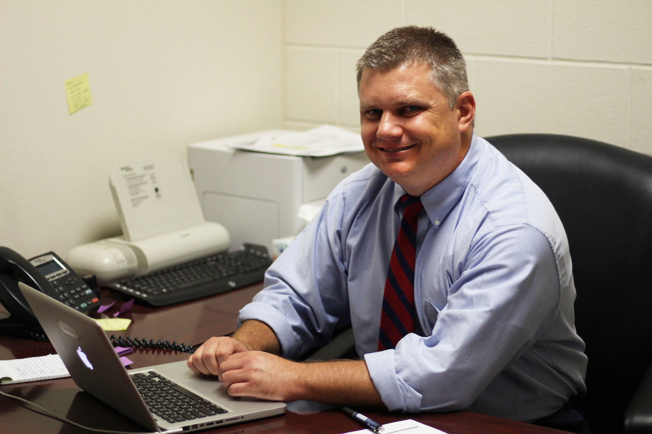 New assistant principal Phillip Lentz has 12 years of educational experience, degrees from  Texas Tech and North Texas, and