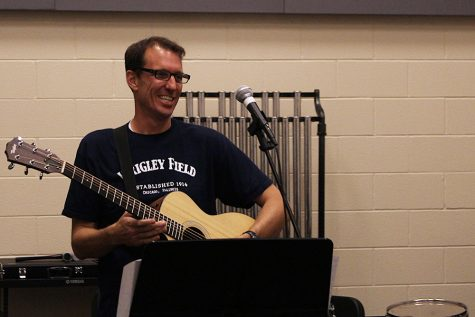 Willow Springs Principal Kent Messer has been playing the guitar since he was 14.