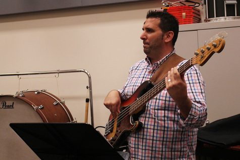 Sloan Creek Principal Ray Winkler began playing music with Messer when they both worked together at the high school.