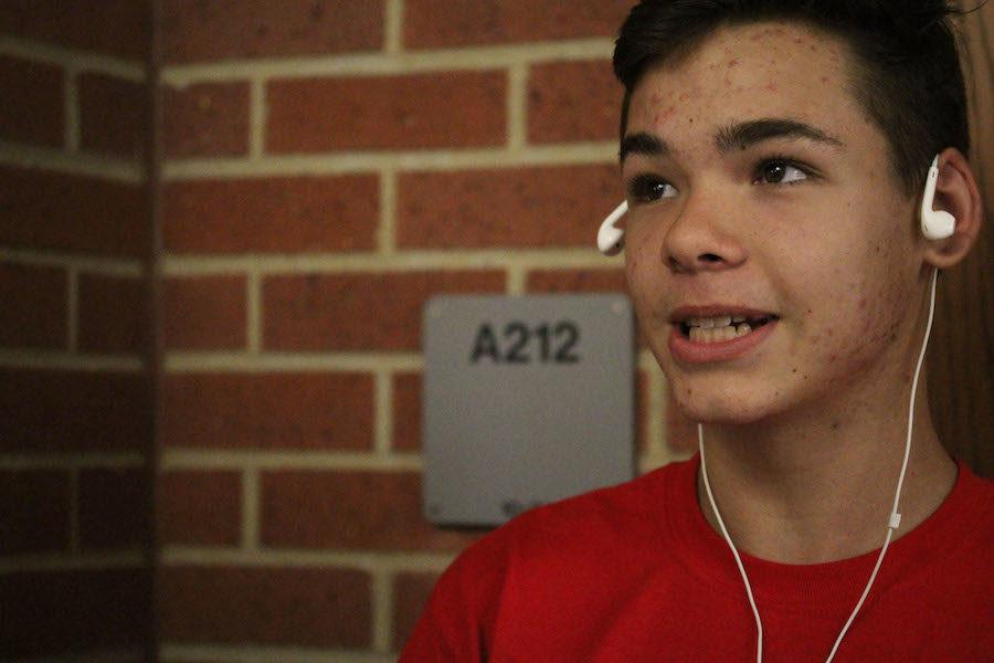 Sophomore Austin Peebles